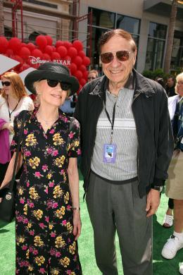 photo 283/409 - Richard Sherman et sa femme - Avant-premi�re L�-Haut � Los Angeles - L�-Haut - © Eric Charbonneau