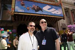 photo 280/409 - Ed Catmull et Jim Gallagher - Avant-premi�re L�-Haut � Los Angeles - L�-Haut - © Eric Charbonneau