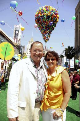 photo 215/409 - John Lasseter et Nancy Lasseter - Avant-premi�re L�-Haut � Los Angeles - L�-Haut - © Eric Charbonneau