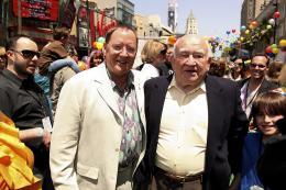 photo 236/409 - John Lasseter et Ed Asner - Avant-premi�re L�-Haut � Los Angeles - L�-Haut - © Eric Charbonneau