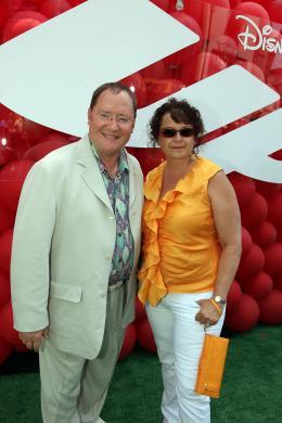 photo 217/409 - John Lasseter et Nancy Lasseter - Avant-premi�re L�-Haut � Los Angeles - L�-Haut - © Eric Charbonneau