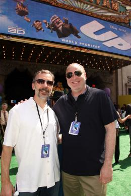 photo 279/409 - Ed Catmull et Jim Gallagher - Avant-premi�re L�-Haut � Los Angeles - L�-Haut - © Eric Charbonneau