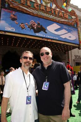 photo 282/409 - Ed Catmull et Jim Gallagher - Avant-premi�re L�-Haut � Los Angeles - L�-Haut - © Eric Charbonneau