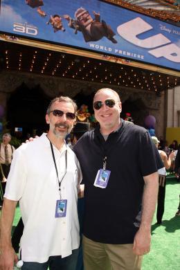 photo 281/409 - Ed Catmull et Jim Gallagher - Avant-premi�re L�-Haut � Los Angeles - L�-Haut - © Eric Charbonneau