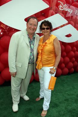 photo 218/409 - John Lasseter et Nancy Lasseter - Avant-premi�re L�-Haut � Los Angeles - L�-Haut - © Eric Charbonneau