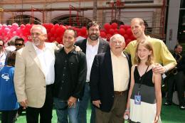 photo 243/409 - John Ratzenberger, Joans Rivera, Bob Peterson, Ed Asner, Pete Docter - Avant-premi�re L�-Haut � Los Angeles - L�-Haut - © Eric Charbonneau
