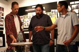 photo 341/409 - Pete Docter, Bob Peterson et Ricky Nierva - L�-Haut - © Walt Disney Studios Motion Pictures France