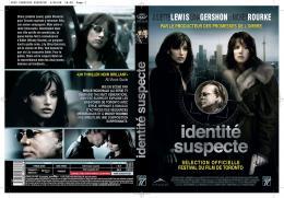 Identité suspecte Jaquette dvd photo 2 sur 9