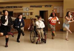 photo 182/316 - Lea Michele, Kevin McHale, Chris Colfer, Jenna Ushkowitz, Amber Riley - Saison 1, épisode pilote - Glee