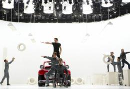 photo 38/316 - Cory Monteith, Chord Overstreet, Harry Shum Jr., Blake Jenner, Jacob Artist, Samuel Larsen - Glee - © Fox