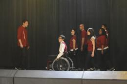 photo 176/316 - Jenna Ushkowitz, Kevin McHale, Lea Michele, Cory Monteith, Amber Riley, Mark Salling - Glee - © Fox Pathé Europa