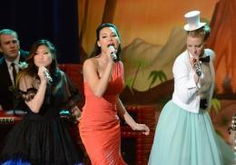 photo 71/316 - Naya Rivera, Heather Morris, Jenna Ushkowitz - Glee - © Fox