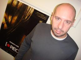 Jaume Balaguero Rencontre pour REC - Photo prise par Paco Plaza <i>(Paris, Janvier 2008)</i> photo 4 sur 12