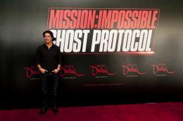photo 154/402 - Conférence de presse à Dubai: Mission Impossible 4 - Tom Cruise - © Paramount
