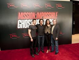 photo 158/402 - Conférence de presse à Dubai: Mission Impossible 4 - Tom Cruise - © Paramount