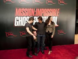 photo 157/402 - Conférence de presse à Dubai: Mission Impossible 4 - Tom Cruise - © Paramount