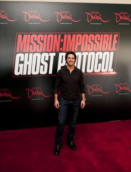 photo 155/402 - Conférence de presse à Dubai: Mission Impossible 4 - Tom Cruise - © Paramount