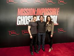 photo 159/402 - Conférence de presse à Dubai: Mission Impossible 4 - Tom Cruise - © Paramount