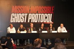 photo 156/402 - Conférence de presse à Dubai: Mission Impossible 4 - Tom Cruise - © Paramount