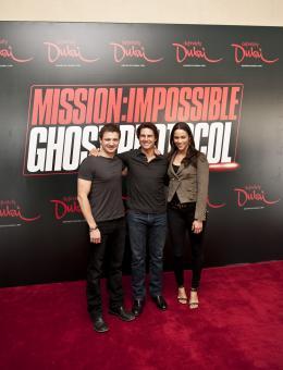 photo 161/402 - Conférence de presse à Dubai: Mission Impossible 4 - Tom Cruise - © Paramount