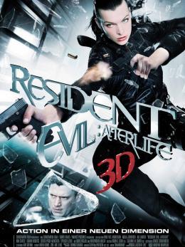 photo 18/39 - Affiche du film - Resident Evil : Afterlife - © Métropolitan Film