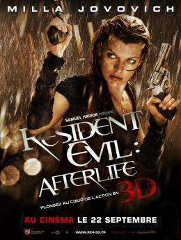 photo 32/39 - Affiche du Film - Resident Evil : Afterlife - © Métropolitan Film