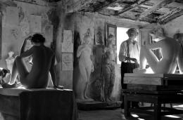 photo 5/9 - Jean Rochefort, Aida Folch - L'Artiste Et Son Modèle - © BAC Films