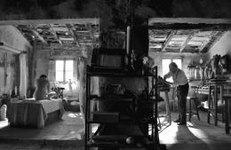 photo 4/9 - Jean Rochefort, Aida Folch - L'Artiste Et Son Modèle - © BAC Films