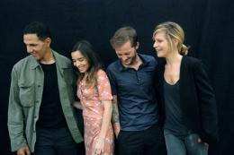 photo 12/42 - Roschdy Zem, Elodie Bouchez, Nicolas Duvauchelle, Marina Foïs - Happy Few - © Le pacte