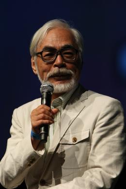 Hayao Miyazaki Comic-Con 2009 photo 2 sur 8