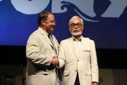 Hayao Miyazaki Comic-Con 2009 photo 1 sur 8