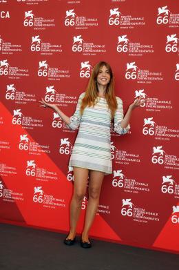 photo 24/29 - Manuela Velasco - Pr�sentation du film Rec2 - Mostra de Venise 2009 - Rec 2 - © Isabelle Vautier - Commeaucinema.com 2009