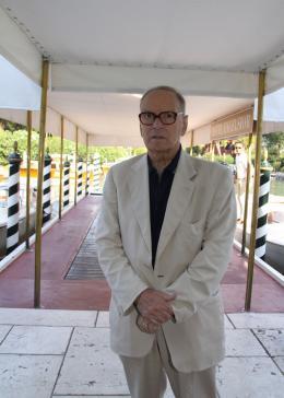 Ennio Morricone Mostra de Venise 2009 photo 2 sur 10