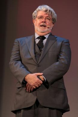 photo 13/39 - Hommage à John Lasseter et à Pixar - Mostra de Venise 2009 - George Lucas