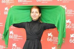 Hana Makhmalbaf Vendredi 11 septembre 2009 - Mostra de Venise 2009 photo 1 sur 3