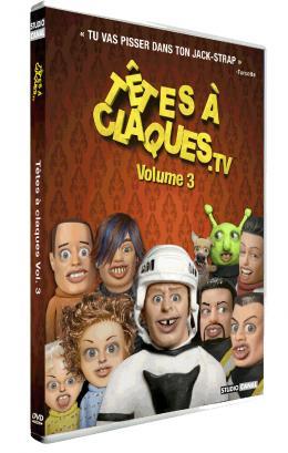 Têtes à claques - Volume 3 Pack dvd photo 1 sur 1
