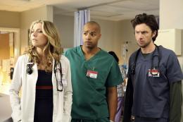 Scrubs - Saison 8 Sarah Chalke, Donald Faison et Zach Braff - Saison 8 photo 6 sur 11