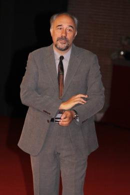 photo 15/29 - Giorgio Diritti - Présentation du film L'uomo che verrà - Festival de Rome 2009 - L'Homme qui viendra - © Isabelle Vautier - Commeaucinema.com 2009