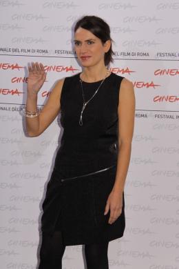 photo 20/29 - Maya Sansa - Présentation du film L'uomo che verrà - Festival de Rome 2009 - L'Homme qui viendra - © Isabelle Vautier - Commeaucinema.com 2009