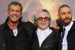 photo 109/134 - Mel Gibson, George Miller, Tom Hardy - Avant-première à Londres - Mad Max : Fury Road - © Warner Bros