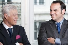 photo 5/17 - Guy Bedos, François-Xavier Demaison - Moi, Michel G, milliardaire, maître du monde - © Rezo Films