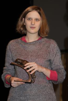 Mia Hansen-Love 15èmes Trophées des Lumières, janvier 2010 photo 2 sur 2