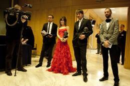 Alberto Ammann Goya du cin�ma espagnol - 14 f�vrier 2010 photo 2 sur 8