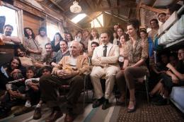 photo 5/14 - José Garcia, Jean-Louis Trintignant, Anna Mouglalis - Chez Gino - © Mars Distribution