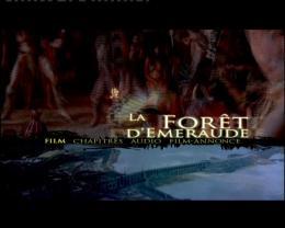 La for�t d'Emeraude Menu Dvd photo 1 sur 2