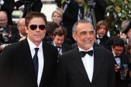 photo 51/82 - Benicio Del Toro et Alberto Barbera - Cannes, 14 mai 2010 - Le Guépard - © Isabelle Vautier - Commeaucinema.com 2010