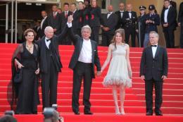photo 36/82 - Claudia Cardinale, Gilles Jacob, Alain Delon, Nanouchka Delon et Thierry Frémeaux - Cannes, 14 mai 2010 - Le Guépard - © Isabelle Vautier - Commeaucinema.com 2010