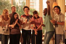 photo 7/10 - Alison Wheeler, François Cluzet, Jules Sitruk, Nanou Garcia, Franck Keïta, Aïmen Derriachi - Mon père est femme de ménage - © ARP Sélection