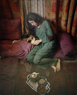 photo 5/8 - Golshifteh Farahani - Syngué Sabour - Pierre de patience - © Le pacte