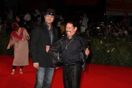 photo 32/79 - Robert Rodriguez et Danny Trejo - Pr�sentation du film Machete - Mercredi 1er Septembre 2010 - Machete - © Isabelle Vautier pour Commeaucinema.com